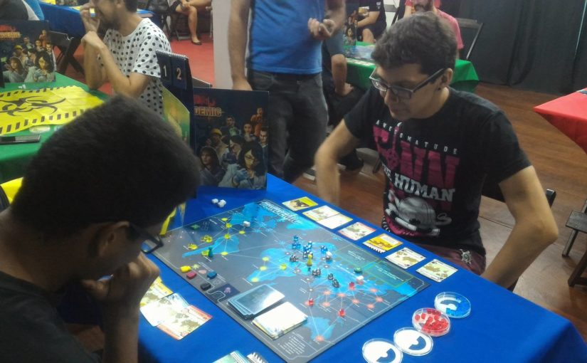 Veja como foi o torneio de Pandemic na Game of Boards