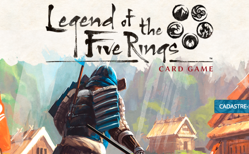 Legend of the Five Rings: cardgame chega ao Brasil antes da CCXP