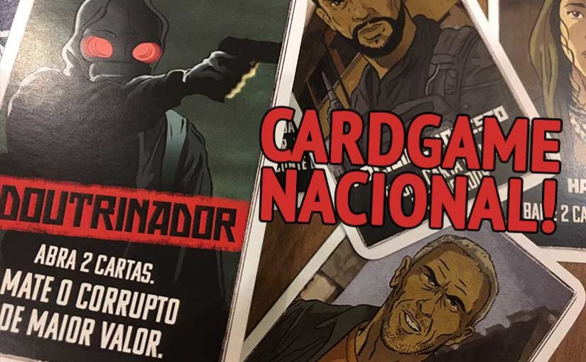 Preview: O Doutrinador Card Game, da New Order Editora